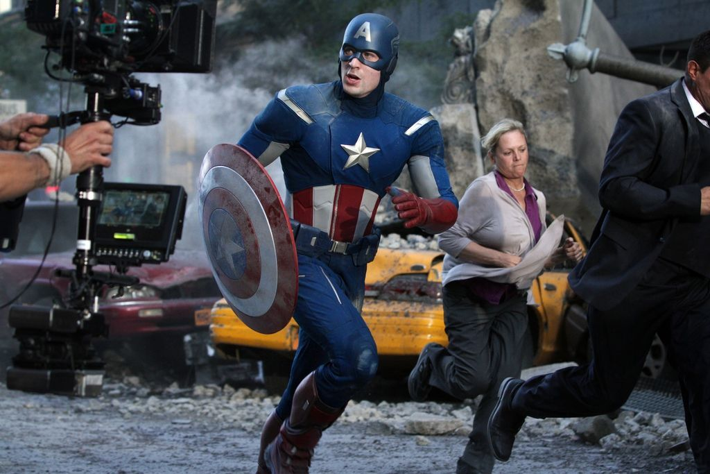 AvengersVisitCapRunningBig
