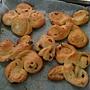 我的花形麵包
