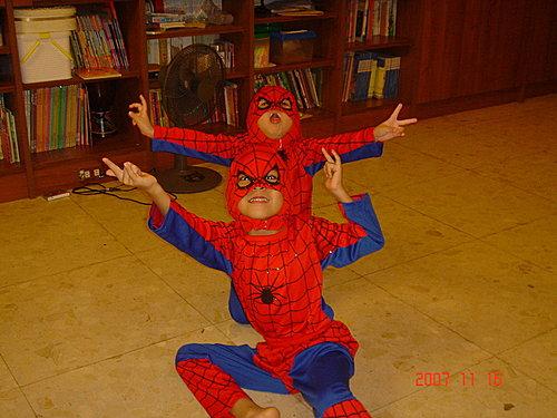 蜘蛛人在我家