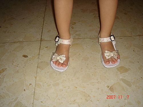 公主的玻璃鞋