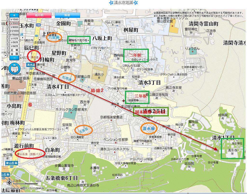 清水寺地圖3