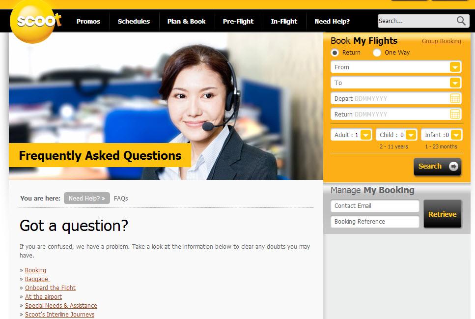 酷航FAQ
