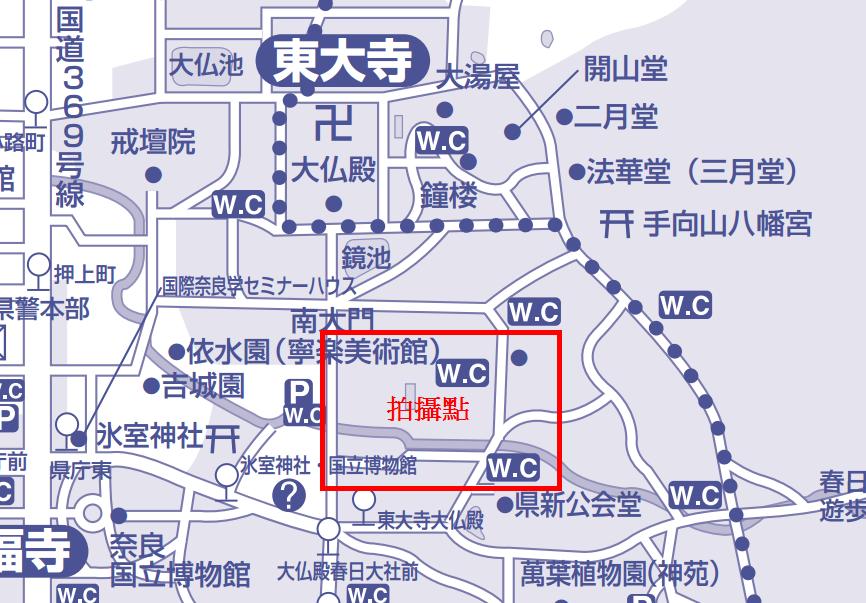 奈良婚紗地圖