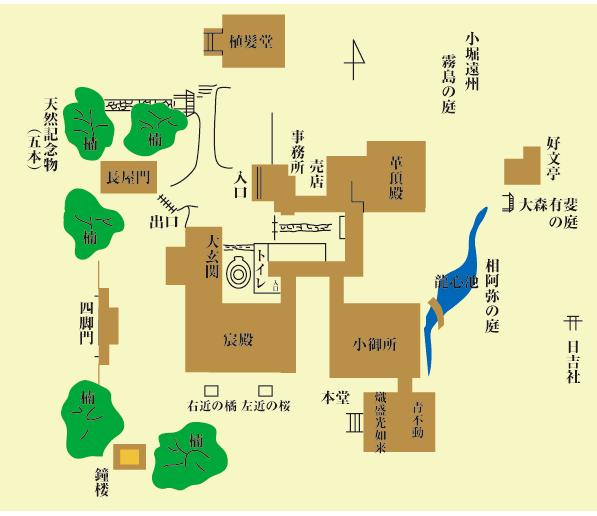 青蓮院地圖