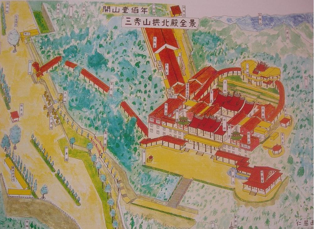 拱北殿地圖
