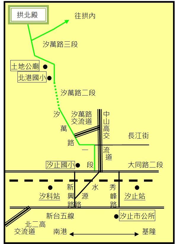拱北殿地圖2