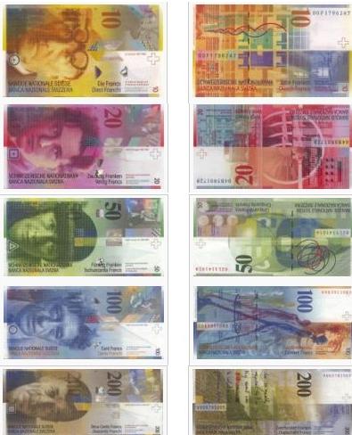 瑞士法郎1