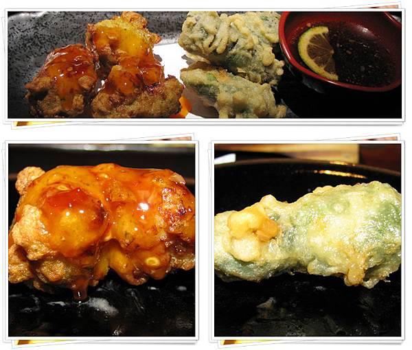 紫酥蝦球&南蠻炸雞