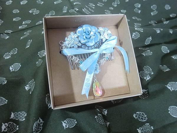 包裝盒內的擺設樣式