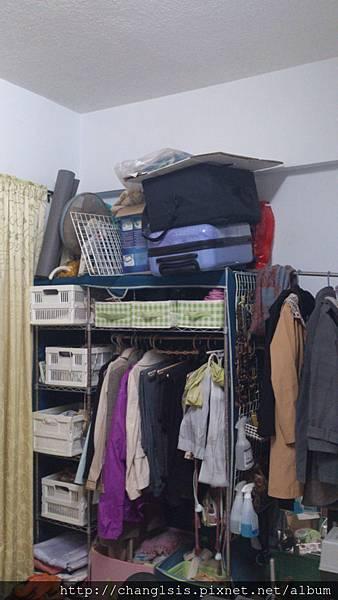 衣櫃原來的樣子