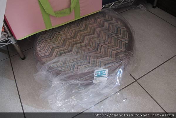 椅墊上套塑膠套