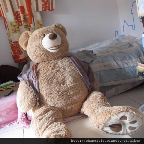 熊熊坐床尾