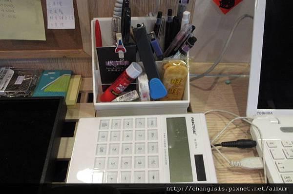 筆筒的新位置跟計算機的新家
