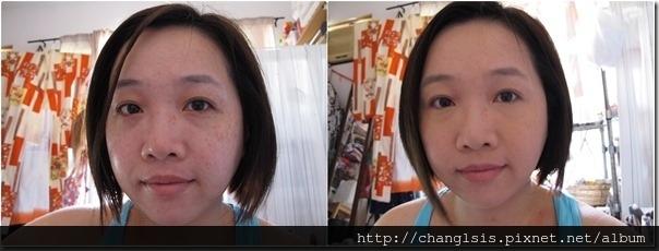 8.4妝前VS單上粉餅01