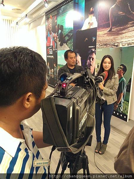 導演和馨儀接受三立新聞採訪2