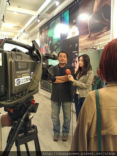 導演和馨儀接受三立新聞採訪5