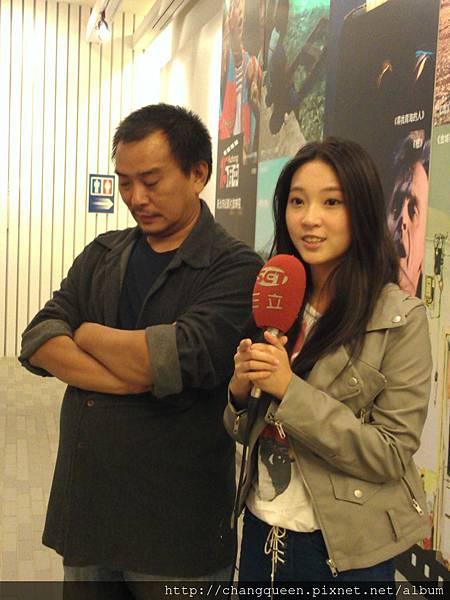 導演和馨儀接受三立新聞採訪6