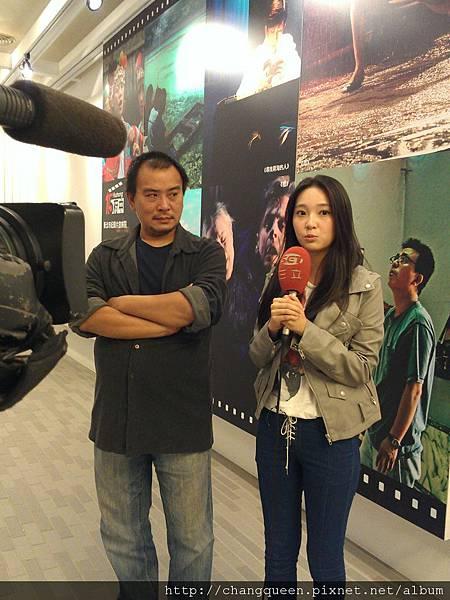 導演和馨儀接受三立新聞採訪8