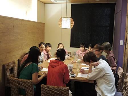103.08.04-義郎創作日本料理-團隊合作與溝通技巧-詹翔霖教授