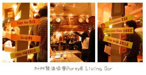 Wine Party in Living Bar