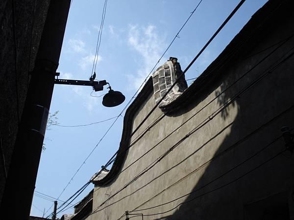 屋屋相連的閩北老宅沿頂