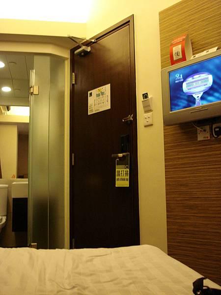 旅館房間,小但方便