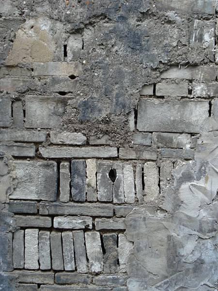 牆剖面便是歷史