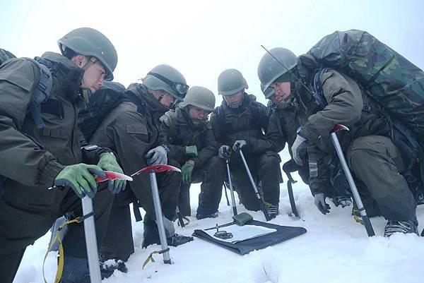 高寒地救援訓練班