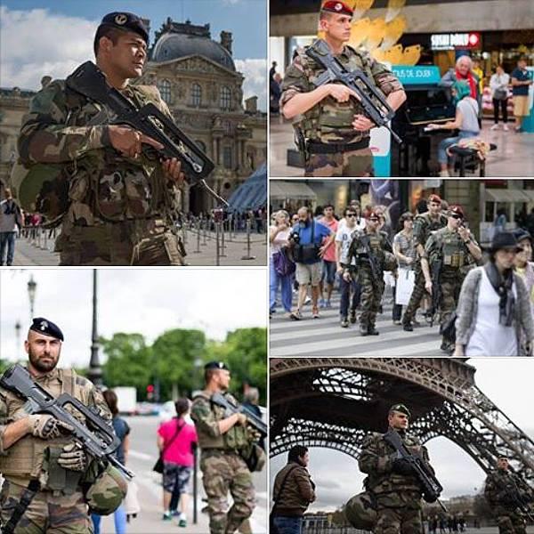 法軍2016
