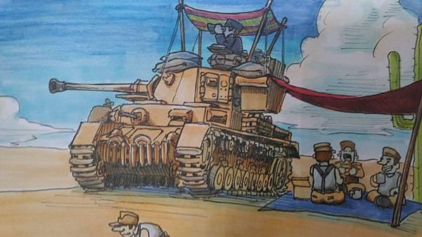德軍北非戰車官兵