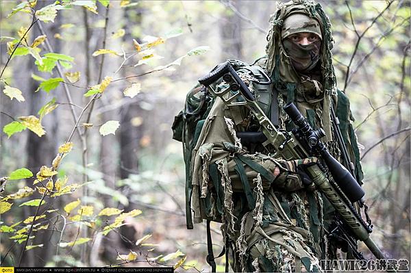 俄特種部隊狙擊手1