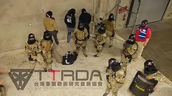 台灣軍警戰術研究發展協會參訓精彩內容