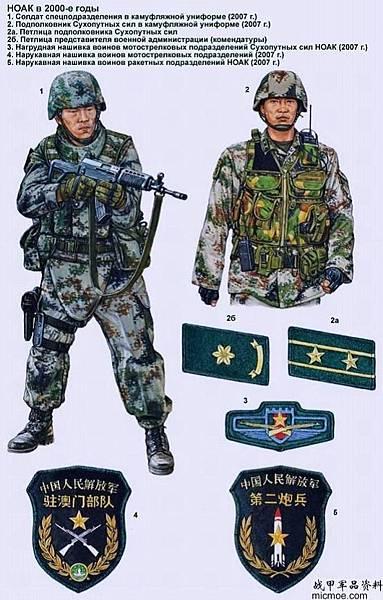 中美单兵装备