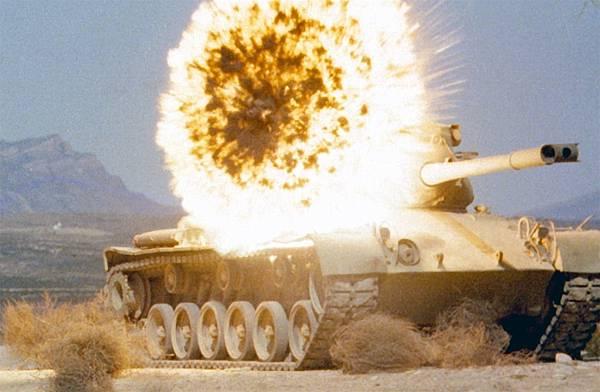 戰車近炸實驗