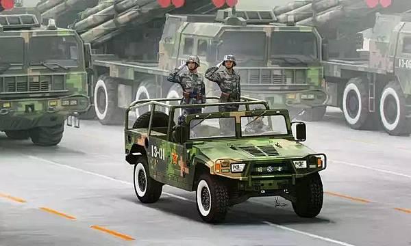 軍用越野車