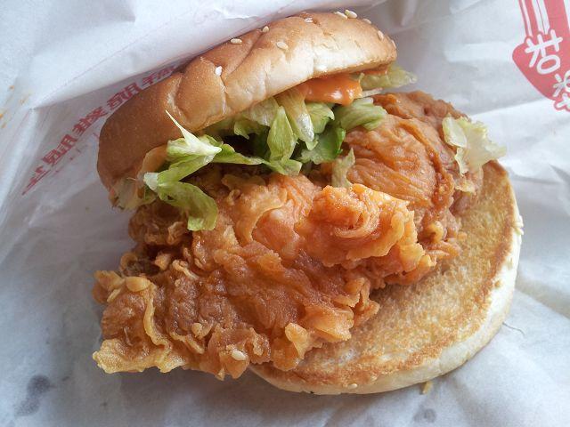 丹丹漢堡-勁辣雞腿堡