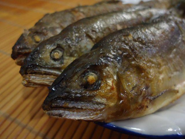 乾煎香魚-2