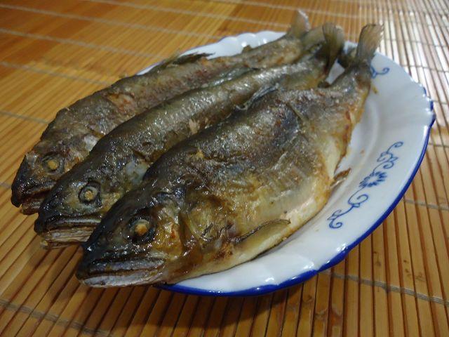 乾煎香魚-4