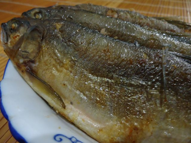 乾煎香魚-3