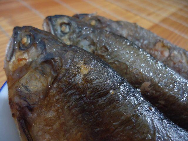 乾煎香魚-1