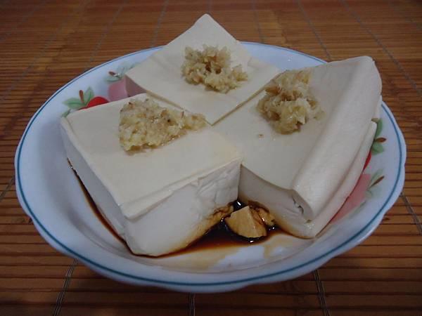 古早味-涼拌薑汁豆腐