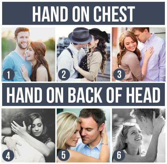 手放對方胸