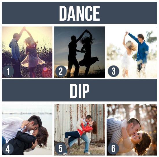 情侶寫真-跳舞