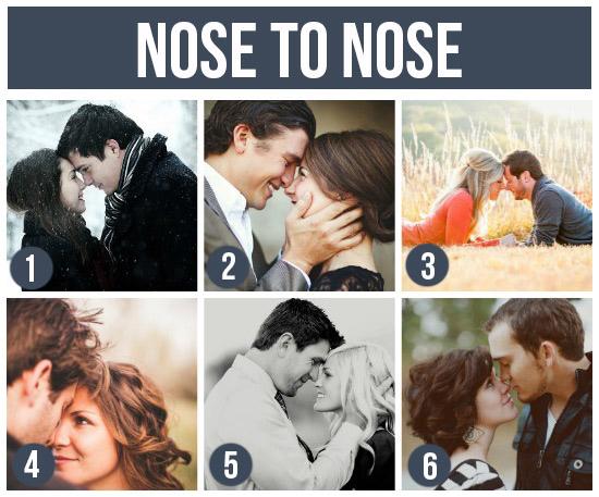情侶寫真-鼻貼鼻