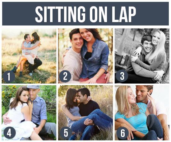 坐在對方大腿