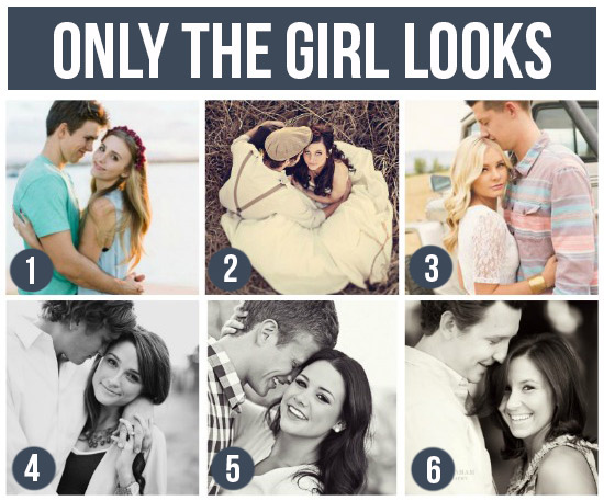 只有女孩望鏡頭