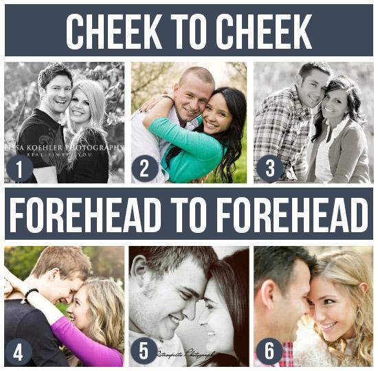 情侶寫真-臉貼臉