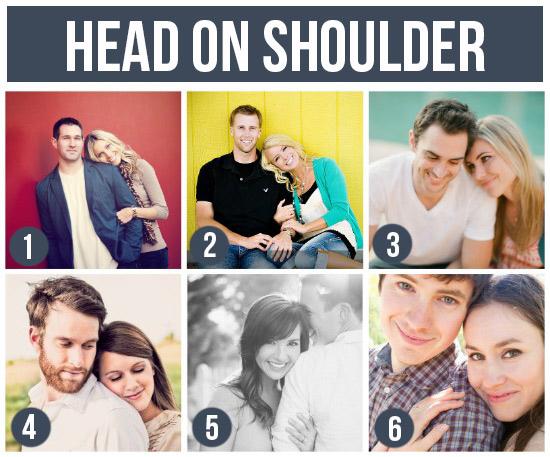 情侶寫真-頭枕在對方肩上