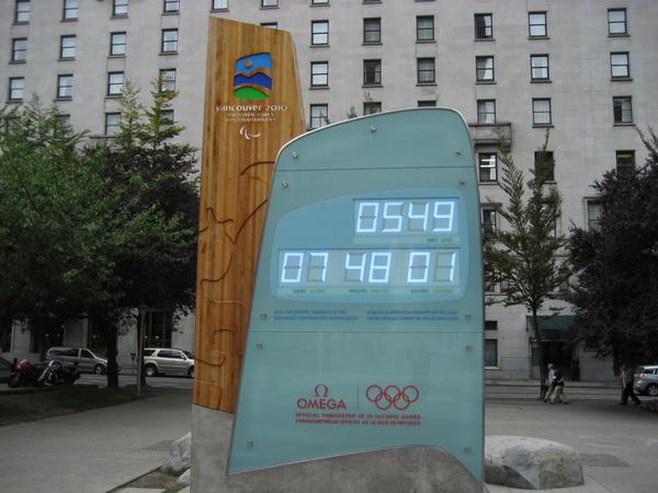 2010冬季奧運倒數計時