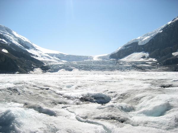 這就是哥倫比亞冰原